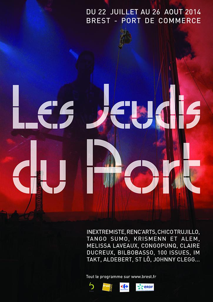 affiche Les Jeudis du Port 2014-2